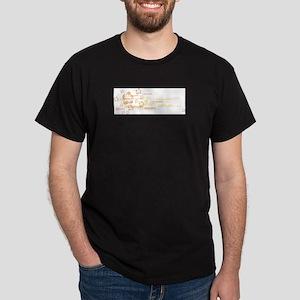 flowers&london Dark T-Shirt