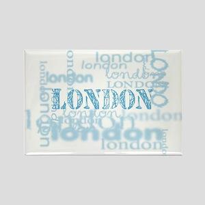 london display Rectangle Magnet