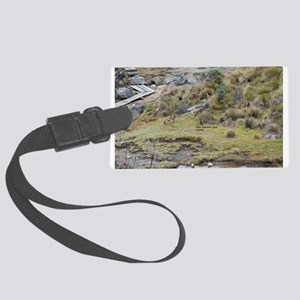 Cajas low land wolf Luggage Tag