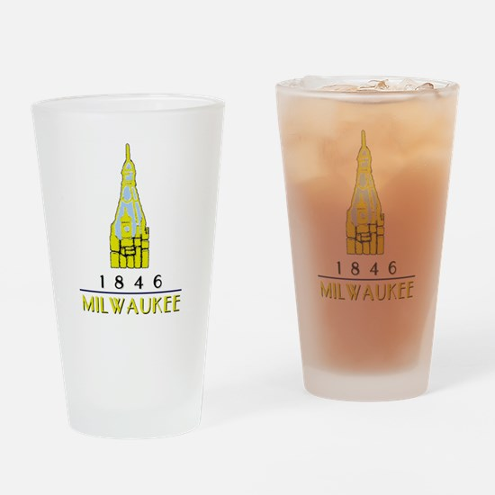 Unique Towers Drinking Glass