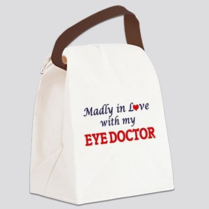 Madly in love with my Eye Doctor Canvas Lunch Bag