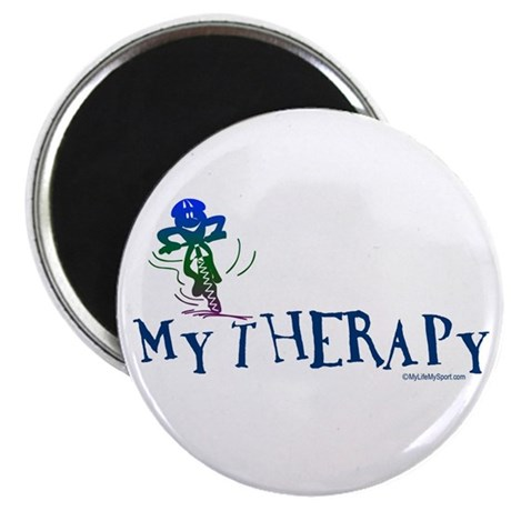 "MY THERAPY 2.25"" Magnet (100 pack)"