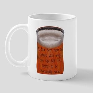 A Fine Old Czech Proverb Mug