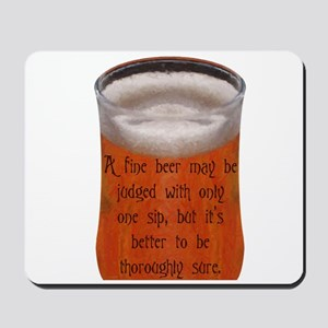 A Fine Old Czech Proverb Mousepad
