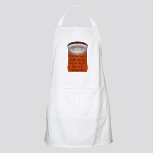 A Fine Old Czech Proverb BBQ Apron