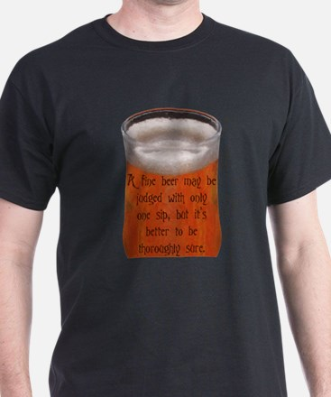 A Fine Old Czech Proverb T-Shirt