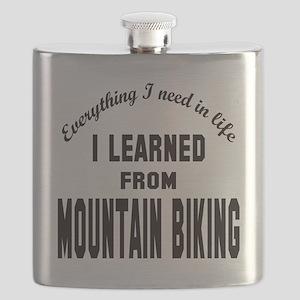 I learned from Mountain Biking Flask