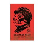 Chairman Meow - Cat Propaganda Mini Poster