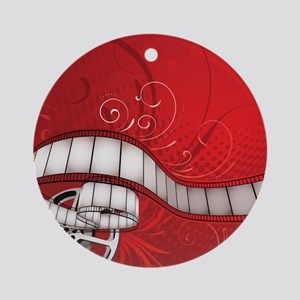 FILM REEL Round Ornament