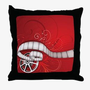 FILM REEL Throw Pillow