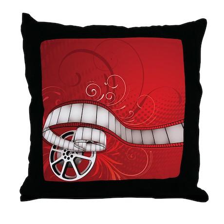 Merveilleux FILM REEL Throw Pillow