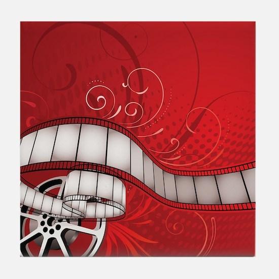 FILM REEL Tile Coaster