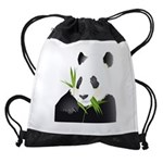 Panda Bear Drawstring Bag