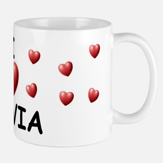 I Love Silvia - Mug