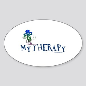 MY THERAPY Oval Sticker