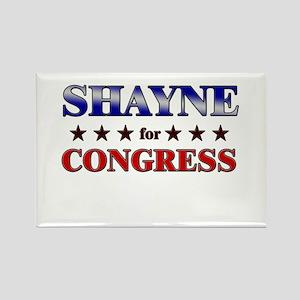 SHAYNE for congress Rectangle Magnet