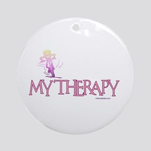 MY THERAPY Ornament (Round)