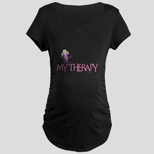 MY THERAPY Maternity Dark T-Shirt