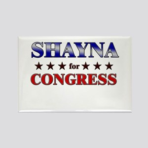 SHAYNA for congress Rectangle Magnet
