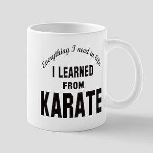 I learned from Karate Mug