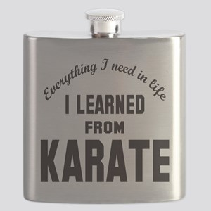 I learned from Karate Flask