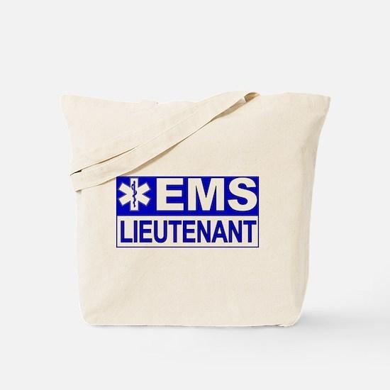 EMS Lieutenant Tote Bag
