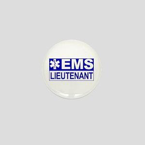 EMS Lieutenant Mini Button