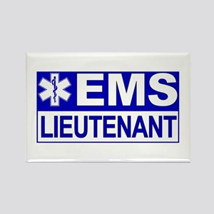 EMS Lieutenant Rectangle Magnet