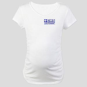 EMS Lieutenant Maternity T-Shirt