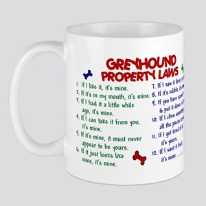 Greyhound Property Laws 2 Mug