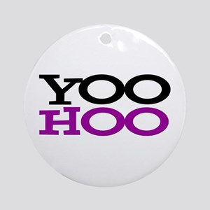 YOOHOO! - PARODY Round Ornament