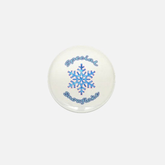 Special Snowflake Mini Button