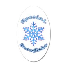 Special Snowflake Wall Decal