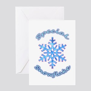 Special Snowflake Greeting Cards