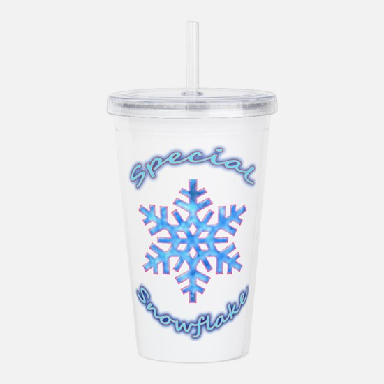Special Snowflake Acrylic Double-wall Tumbler