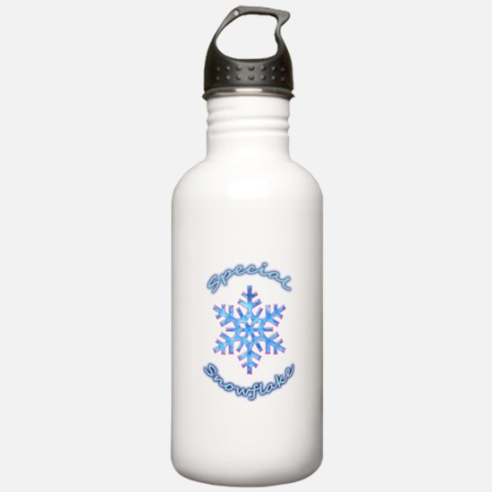 Special Snowflake Water Bottle