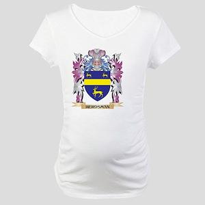 Herdsman Coat of Arms (Family Cr Maternity T-Shirt