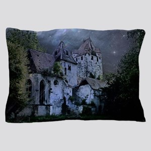 Darkness Halloween Castle Pillow Case