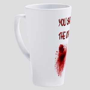 FIGHTER 17 oz Latte Mug