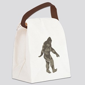 Bigfoot circle game 2 Canvas Lunch Bag