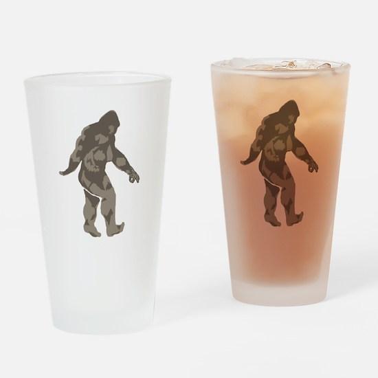 Bigfoot circle game 2 Drinking Glass