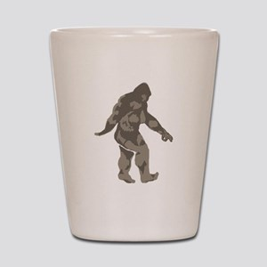 Bigfoot circle game 2 Shot Glass