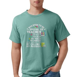 7b6595a755e Special Education Needs Teacher Men s Comfort Color® T-Shirts - CafePress