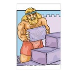 The Master, Abiff at Labor Postcards (Package of