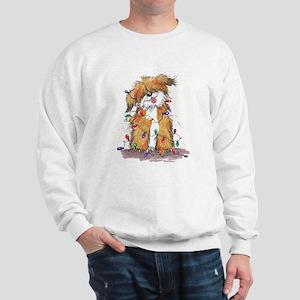 Light String Doggie Sweatshirt