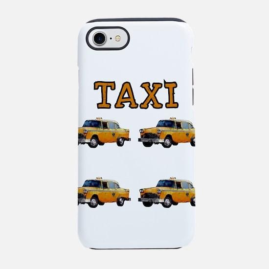 TAXI iPhone 8/7 Tough Case