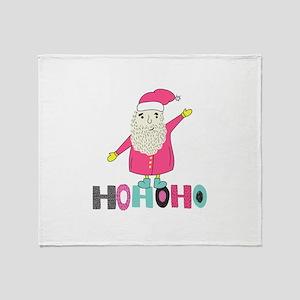 HOHOHO Throw Blanket