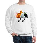 Fish Bowl Kittys Sweatshirt