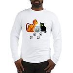 Fish Bowl Kittys Long Sleeve T-Shirt
