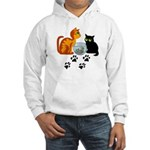 Fish Bowl Kittys Hooded Sweatshirt